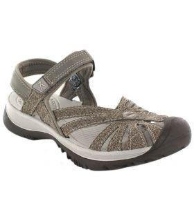 Keen Rose Sandal Zapatillas Trekking Mujer Calzado Montaña Tallas: 37, 37,5; Color: beige
