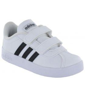 Adidas VL Court 2.0 CMF I Blanco - Calzado Casual Baby - Adidas blanco 21, 23, 25, 25,5