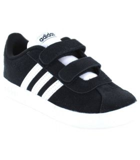 Adidas VL Court 2.0 CMF I Negro - Calzado Casual Baby - Adidas negro 23 1/2, 25,5, 26,5