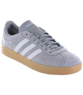 Adidas VL Court 2.0 Gris Calzado Casual Hombre Lifestyle Adidas