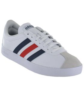 Adidas VL Court 2.0 Blanco Adidas Calzado Casual Hombre Lifestyle Tallas: 44 2/3, 46; Color: blanco