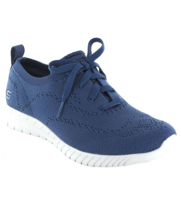 zapatillas skechers mujer azules 37 21