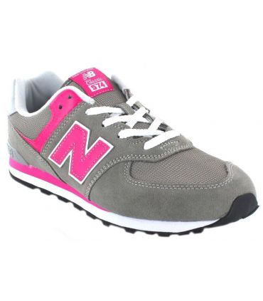 New Balance GC574GP New Balance Calzado Casual Junior Lifestyle Tallas: 36, 37, 40, 38; Color: gris