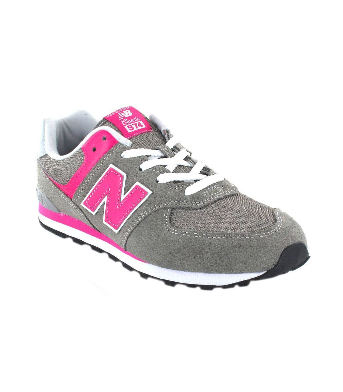 New Balance GC574GP New Balance Calzado Casual Junior Lifestyle Tallas: 36, 37, 40, 38; Color: gris