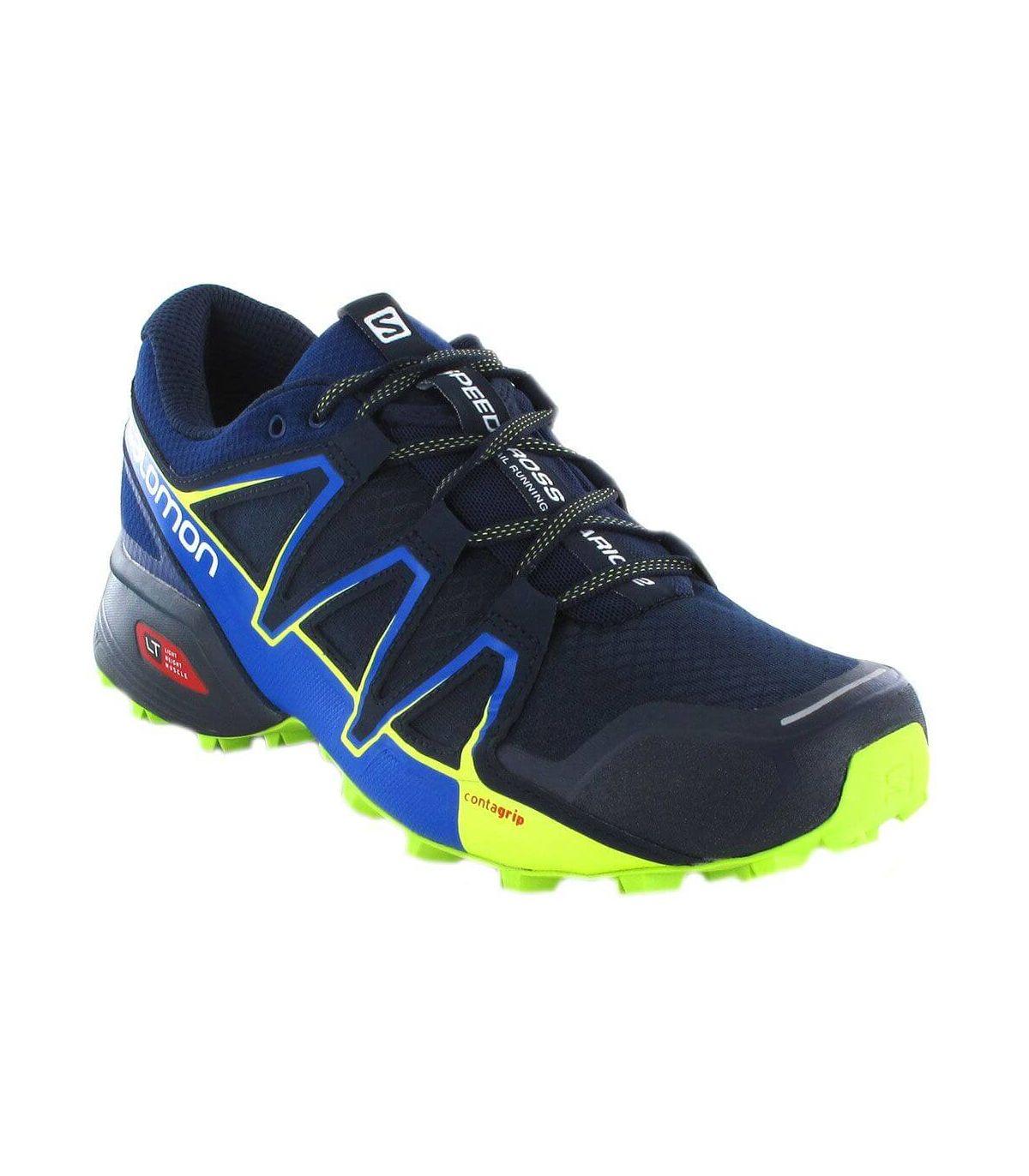 Salomon Speedcross Vario 2 Azul Salomon Zapatillas Trail Running Hombre Zapatillas Trail Running Tallas: 46 2/3; Color: