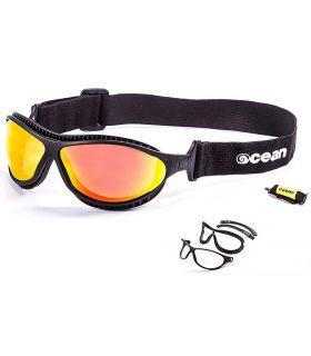Ocean Tierra de Fuego Mate Black / Revo - Gafas de sol Running - Ocean Sunglasses negro