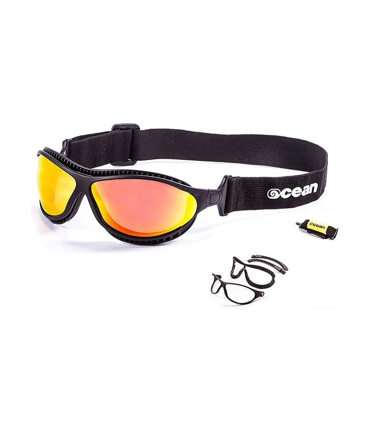 Ocean Tierra de Fuego Mate Black / Revo Ocean Sunglasses Gafas de sol Running Running Color: negro