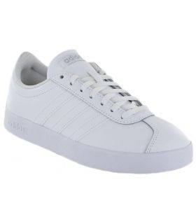 Adidas VL Court 2.0 W Blanco Adidas Calzado Casual Mujer Lifestyle Tallas: 40, 40 2/3; Color: blanco