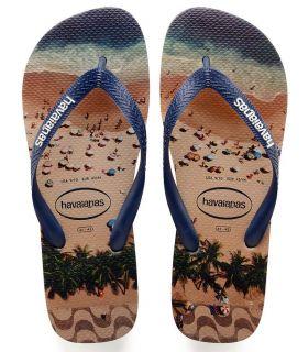 Havaianas Hype Beige - Tienda Sandalias / Chancletas Hombre - Havaianas beige 43 / 44, 45