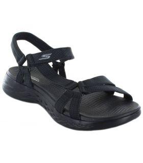 Skechers Brilliancy Negro Skechers Tienda Sandalias / Chancletas Mujer Sandalias / Chancletas Tallas: 39; Color: negro