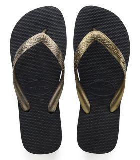 Havaianas Top Tiras Negro - Tienda Sandalias / Chancletas Mujer - Havaianas negro 37 /