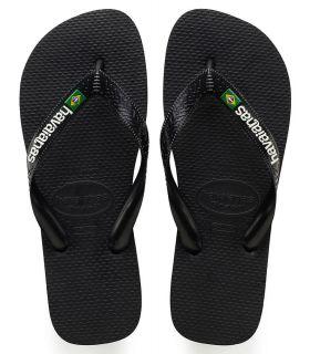Havaianas Brasil Logo Negro - Tienda Sandalias / Chancletas Hombre - Havaianas negro 41 /