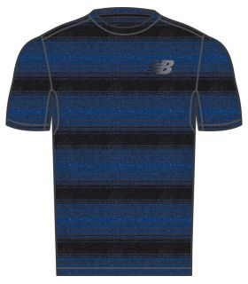 New Balance Anticipate Short Sleeve New Balance Camisetas técnicas running Textil Running Tallas: m, l, xl; Color: azul