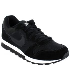 Nike MD Runner 2 W Negro Nike Calzado Casual Mujer Lifestyle Tallas: 37,5, 38, 39, 40, 41; Color: negro