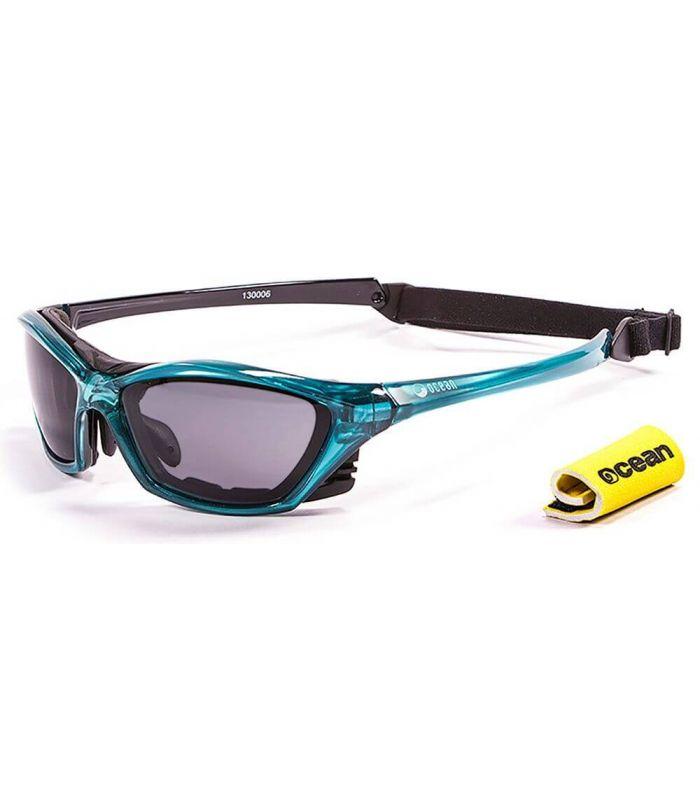 Ocean Lake Garda Shiny Blue / Smoke Ocean Sunglasses Gafas de sol Running Running Color: azul
