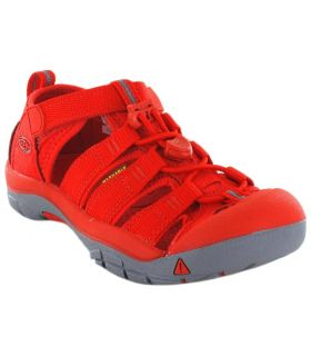 Keen Junior Newport H2 Firey Red Tienda Sandalias / Chancletas