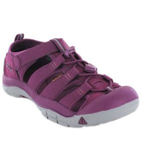 Keen Junior Newport H2 Grape Tienda Sandalias / Chancletas