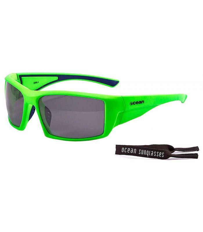 Ocean Aruba Mate Green / Smoke - Gafas de sol Running - Ocean Sunglasses verde