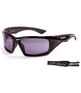 Ocean Antigua Shinny Black / Smoke - Gafas de sol Running - Ocean Sunglasses negro