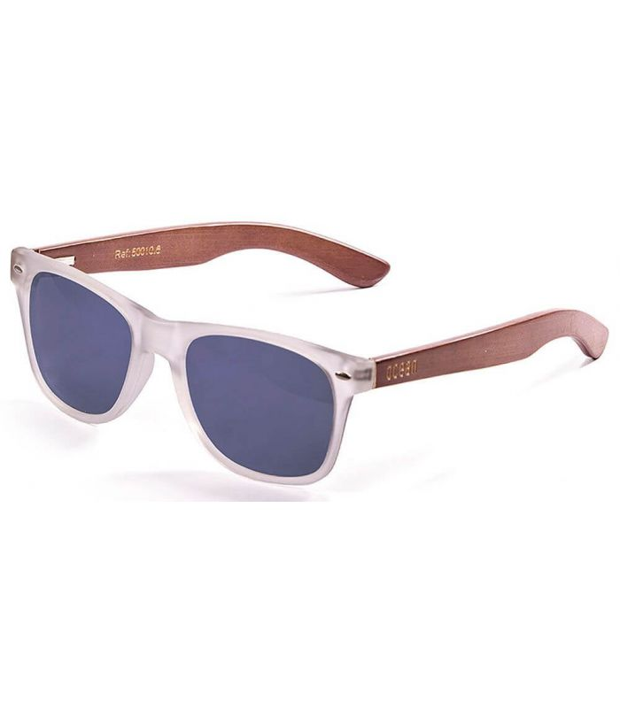 Ocean Beach Wood 50010.6 - Gafas de Sol Lifestyle - Ocean Sunglasses marron