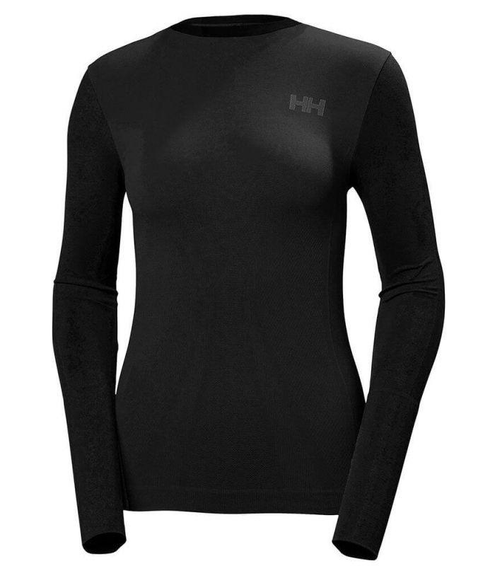 Helly Hansen Lifa Seamless Crew W Helly Hansen Camisetas técnicas running Textil Running Tallas: m; Color: negro