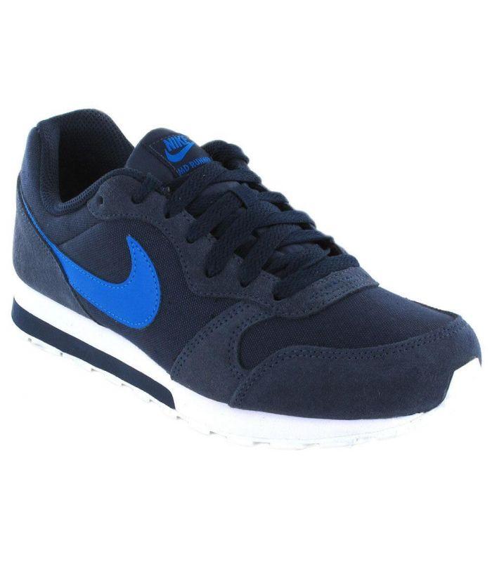 best service 18b95 24f4b Zapatillas Nike MD Runner 2 azul marino blanco