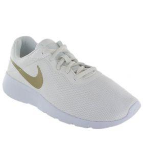 Nike Tanjun GS Blanco Nike Calzado Casual Junior Lifestyle Tallas: 37,5, 38, 38,5; Color: blanco