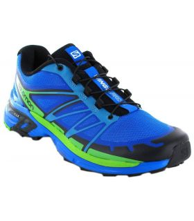 Salomon Wings Pro 2 Azul Salomon Zapatillas Trail Running Hombre Zapatillas Trail Running Tallas: 40 2/3; Color: azul