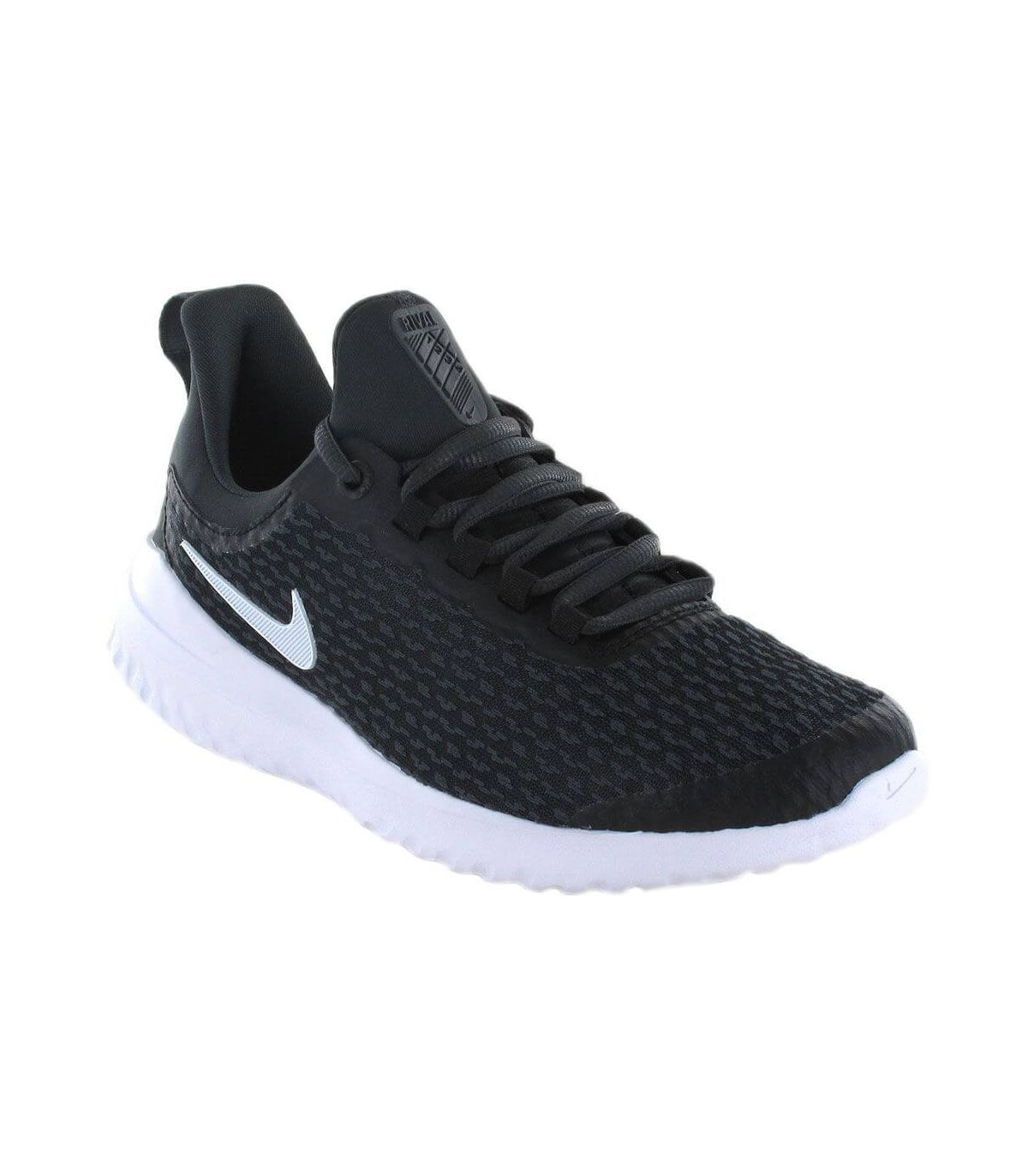 Nike Renew Rival GS Nike Calzado Casual Junior Lifestyle Tallas: 36,5, 37,5, 38, 38,5, 40; Color: negro