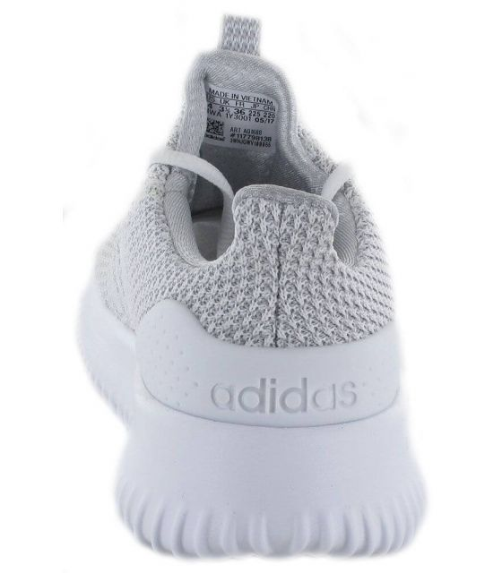 Adidas Cloudfoam Ultimate W Adidas Calzado Casual Mujer Lifestyle Tallas: 36 2/3, 38 2/3; Color: gris