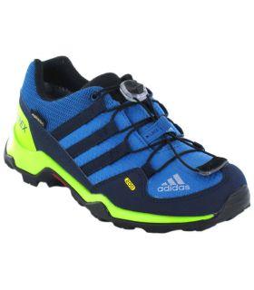 Adidas Terrex GTX Azul Zapatillas Trekking Niño Calzado Montaña
