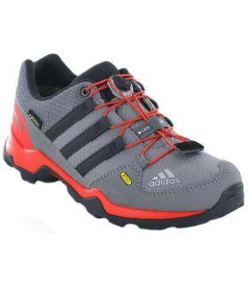 Adidas Terrex Gore-Tex Gris Adidas Zapatillas Trekking Niño Calzado Montaña Tallas: 31, 31,5; Color: gris