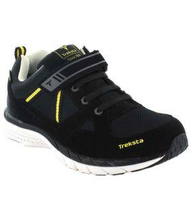 Treksta Jr Trail Gore-Tex TrekSta Zapatillas Trekking Niño Calzado Montaña Tallas: 24, 25, 37, 31; Color: negro
