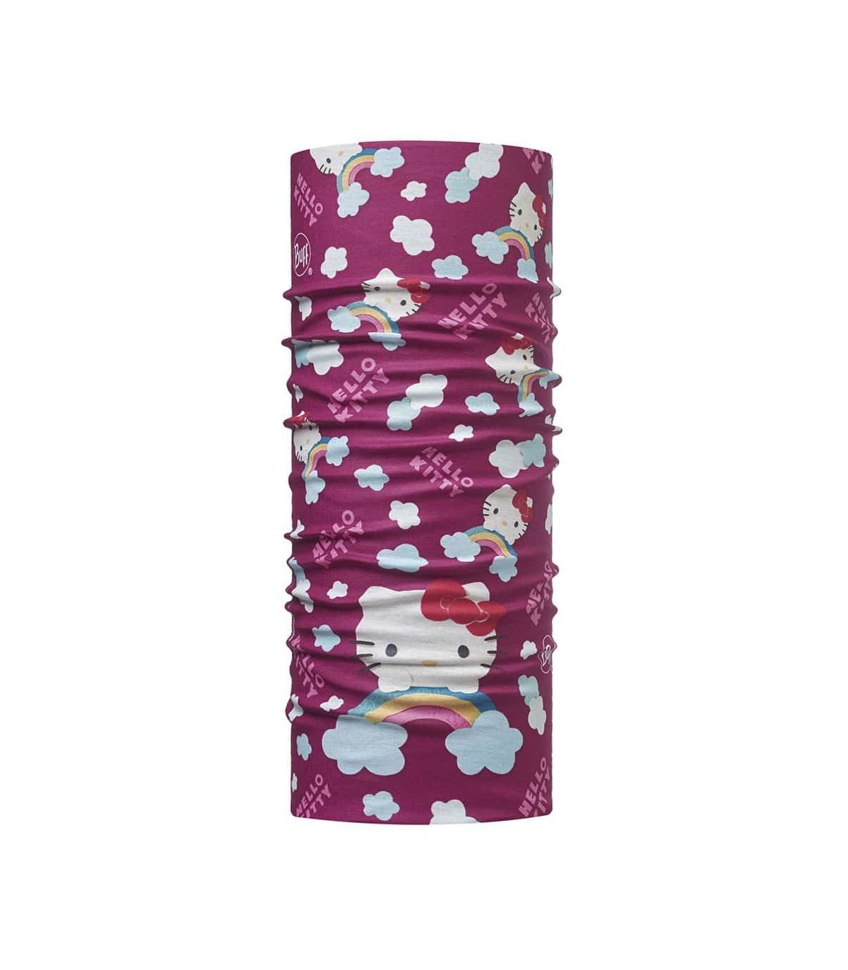Buff Hello Kitty Original Buff Rainbow Buff Buff Montaña Montaña Color: morado