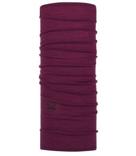 Buff Merino Buff Solid Raspberry