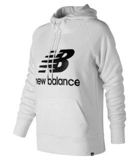 New Balance Pullover Hoodie W White