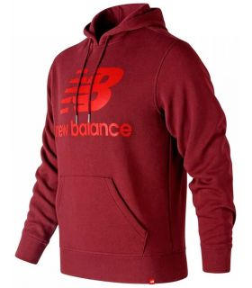 New Balance Sudadera Esse Brush New Balance Sudaderas Lifestyle Lifestyle Tallas: m; Color: granate