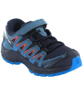 Salomon XA PRO 3D CSWP K Navy Zapatillas Trail Running Junior