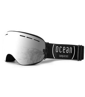 Ocean Cervino Silver Black - Mascaras de Ventisca - Ocean Sunglasses gris