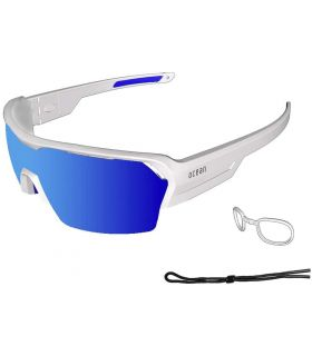 Ocean Race Matte White / Revo Blue
