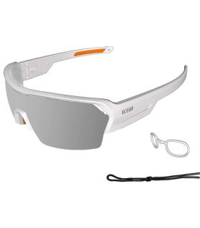 Ocean Race Matte White / Revo Grey