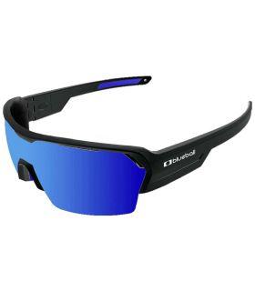 Blueball Aizkorri Matte Black / Revo Blue - Gafas de Sol Sport - Blueball negro