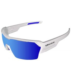 Blueball Aizkorri Matte White / Revo Blue - Gafas de Sol Sport - blanco