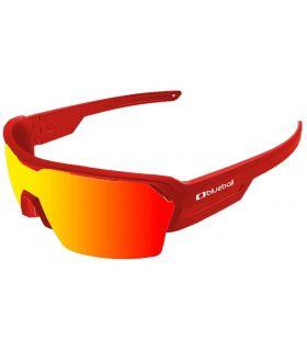 Blueball Aizkorri Matte Red / Revo Red - Gafas de Sol Sport - Blueball rojo