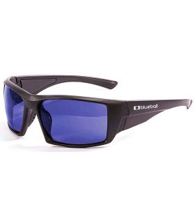 Blueball Monaco Matte Black / Revo Blue - Gafas de Sol Sport - Blueball negro