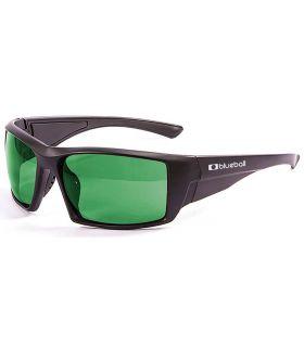Blueball Monaco Matte Black / Revo Green - Gafas de Sol Sport - Blueball negro