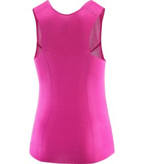 Salomon S-Lab Sense Tank W Salomon Camisetas Técnicas Trail Running Textil Trail Running Tallas: s, m, l; Color: rosa
