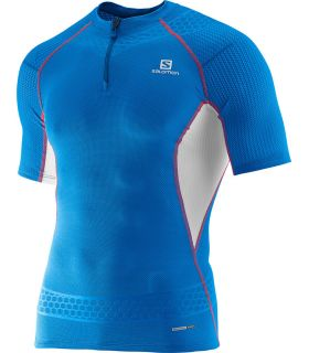 Salomon S-Lab Exo Zip Tee Azul 2