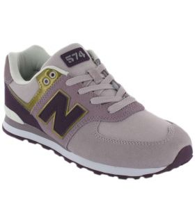 New Balance GC574MLG New Balance Calzado Casual Junior Lifestyle Tallas: 36, 37, 38, 39, 40; Color: morado