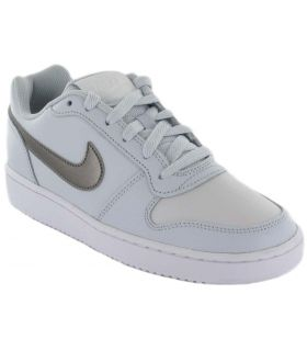 Nike Ebernon Low W Gris Nike Calzado Casual Mujer Lifestyle Tallas: 37,5, 38, 38,5, 39, 40, 40,5, 41, 42; Color: gris